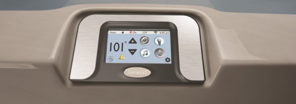 Jacuzzi J-500 Control Panel