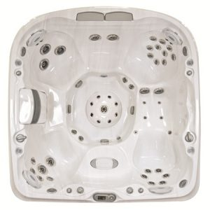 Jacuzzi J-480 Hot Tub Overhead View