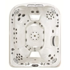 Jacuzzi J-495 Hot Tub Overhead View