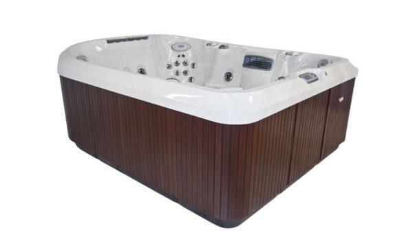Jacuzzi J-495 Hot Tub Quarter View