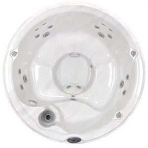 Jacuzzi J-210 Hot Tub Overhead View