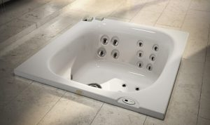 Jacuzzi City Spa Hot Tub Built In