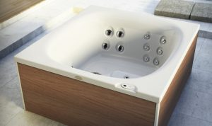 Jacuzzi City Spa Hot Tub Freestanding Angle