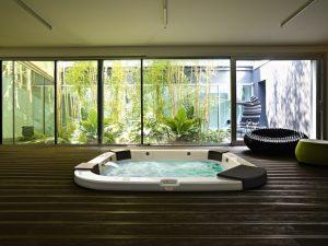 Jacuzzi Delos Hot Tub Built-In