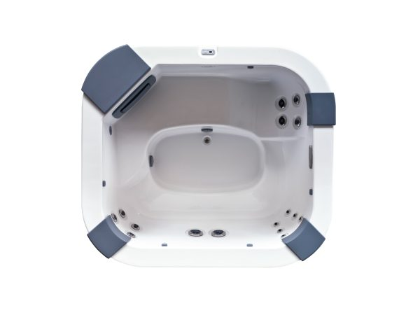 Jacuzzi Delos Hot Tub Overhead View