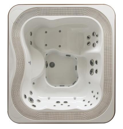Jacuzzi Profile Hot Tub Overhead