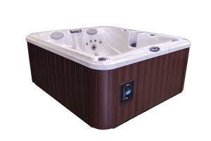Jacuzzi® J-225 Hot Tub Side View