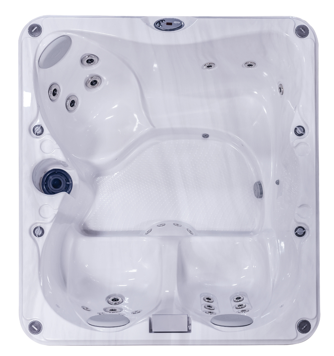 Jacuzzi® J-225 Hot Tub Overhead View