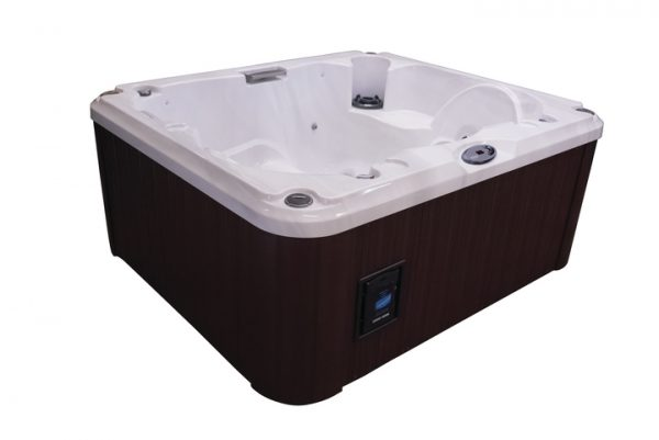 Jacuzzi® J-215 Hot Tub Side View